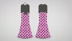 Sigue los pasos y cose una réplica de este traje de flamenca