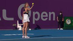 Tenis - WTA Torneo Doha. 1/4 Final: A. Kontaveit - P. Kvitova