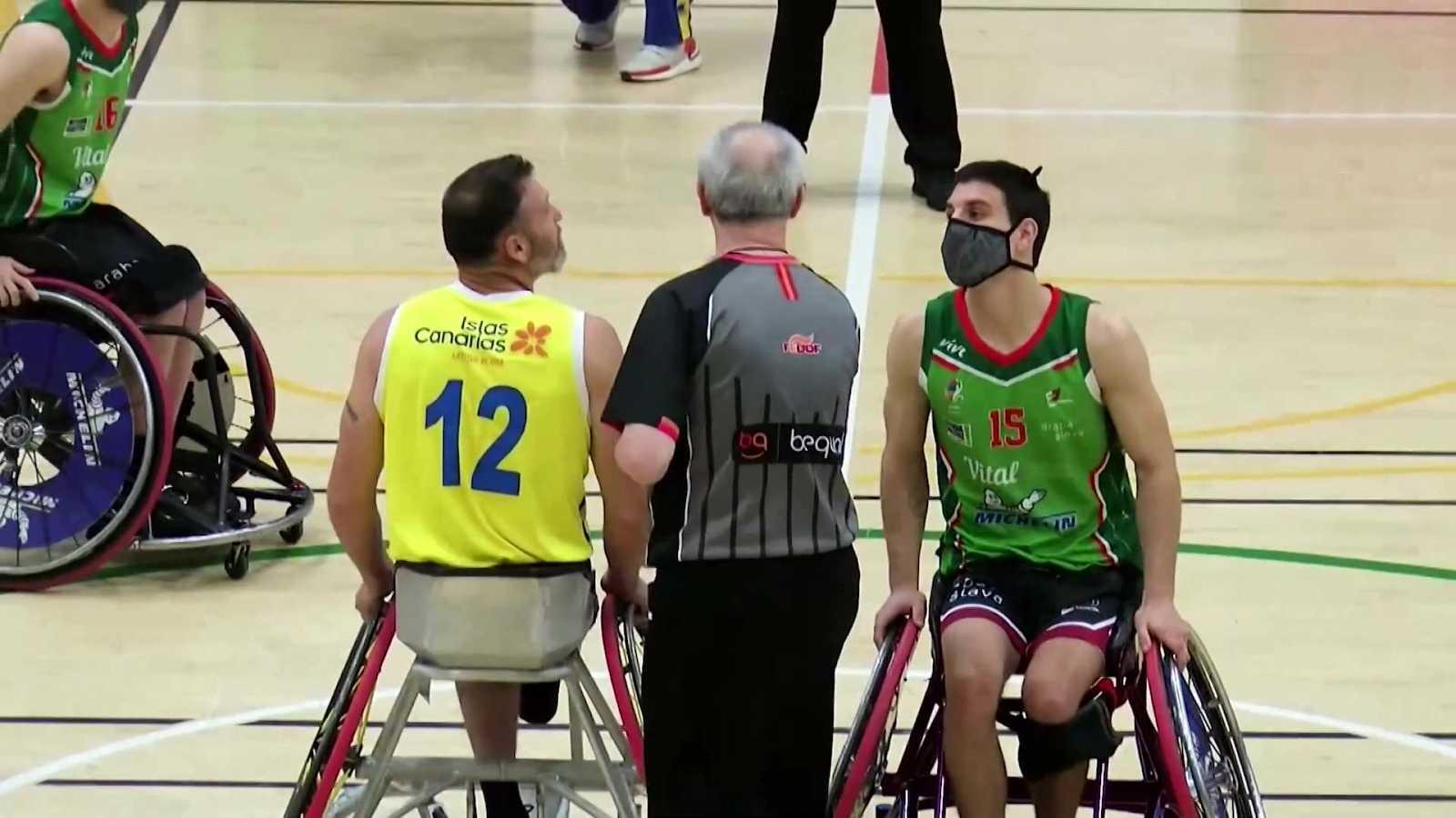 Baloncesto en silla de ruedas - Liga BSR División de honor. Resumen Jornada 14 - ver ahora