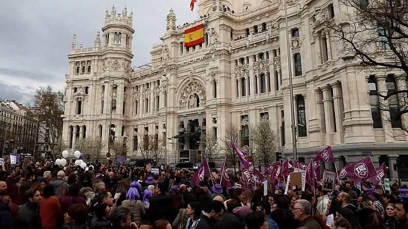 """La Delegación de Gobierno en Madrid prohíbe las manifestaciones del 8M """"por motivos de salud pública"""""""