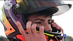 Izan Guevara prepara la seva estrena al Mundial de Moto3.