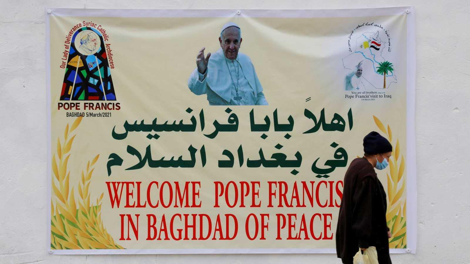 El papa Francisco visita Irak, un país castigado por la pandemia y la violencia