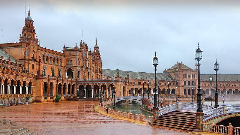 Precipitaciones fuertes en Andalucía y área del Estrecho - Ver ahora