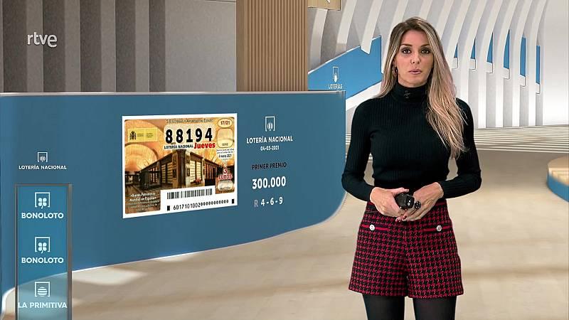 Sorteo de la Lotería Nacional, Bonoloto, Primitiva y Jóker del 04/03/2021 - ver ahora