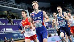 Atletismo - Campeonato de Europa Pista Cubierta. Sesión Vespertina (2): Series 1500m masculino - 04/03/21