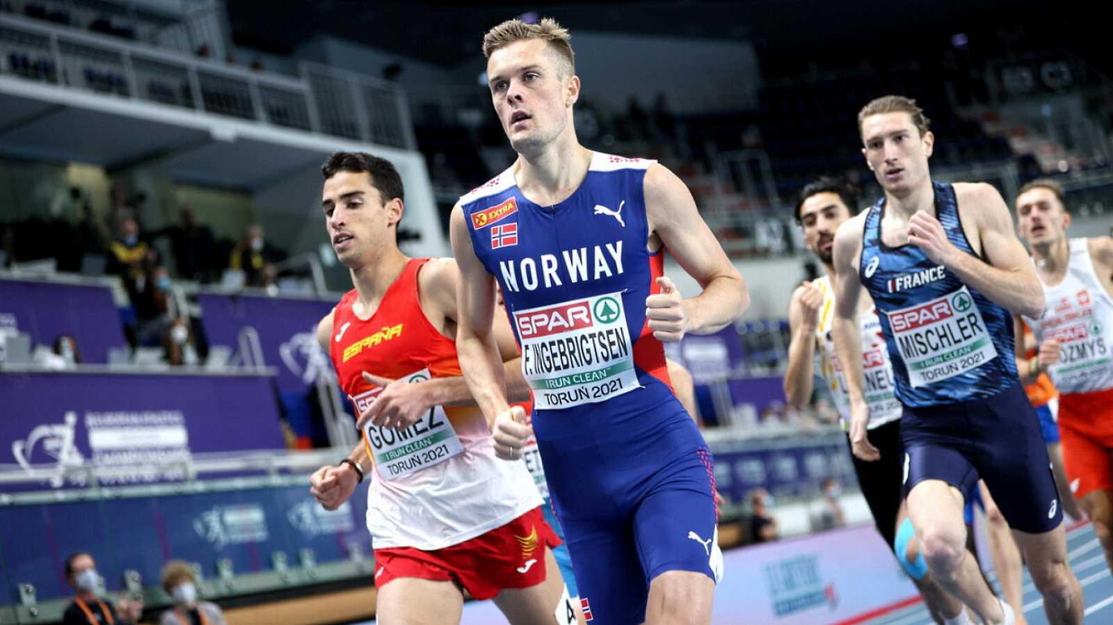 Atletismo - Campeonato de Europa Pista Cubierta. Sesión Vespertina (2): Series 1500m masculino - 04/03/21 - ver ahora