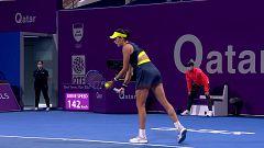 Tenis - WTA Torneo Doha. 1/4 Final: G. Muguruza - M. Sakkari