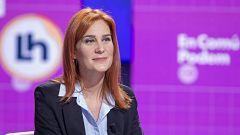"""Albiach pide """"coraje"""" a ERC para desligarse de Junts y """"generosidad"""" al PSC para apoyar un Govern de ERC con los 'comunes'"""