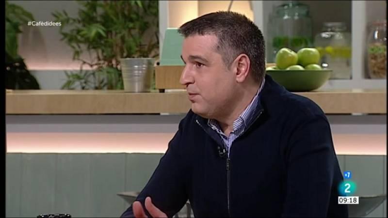 """Roger Pallarols: """"S'ha tractat a la restauració de Catalunya amb una duresa que no hem vist amb altres comunitats"""""""