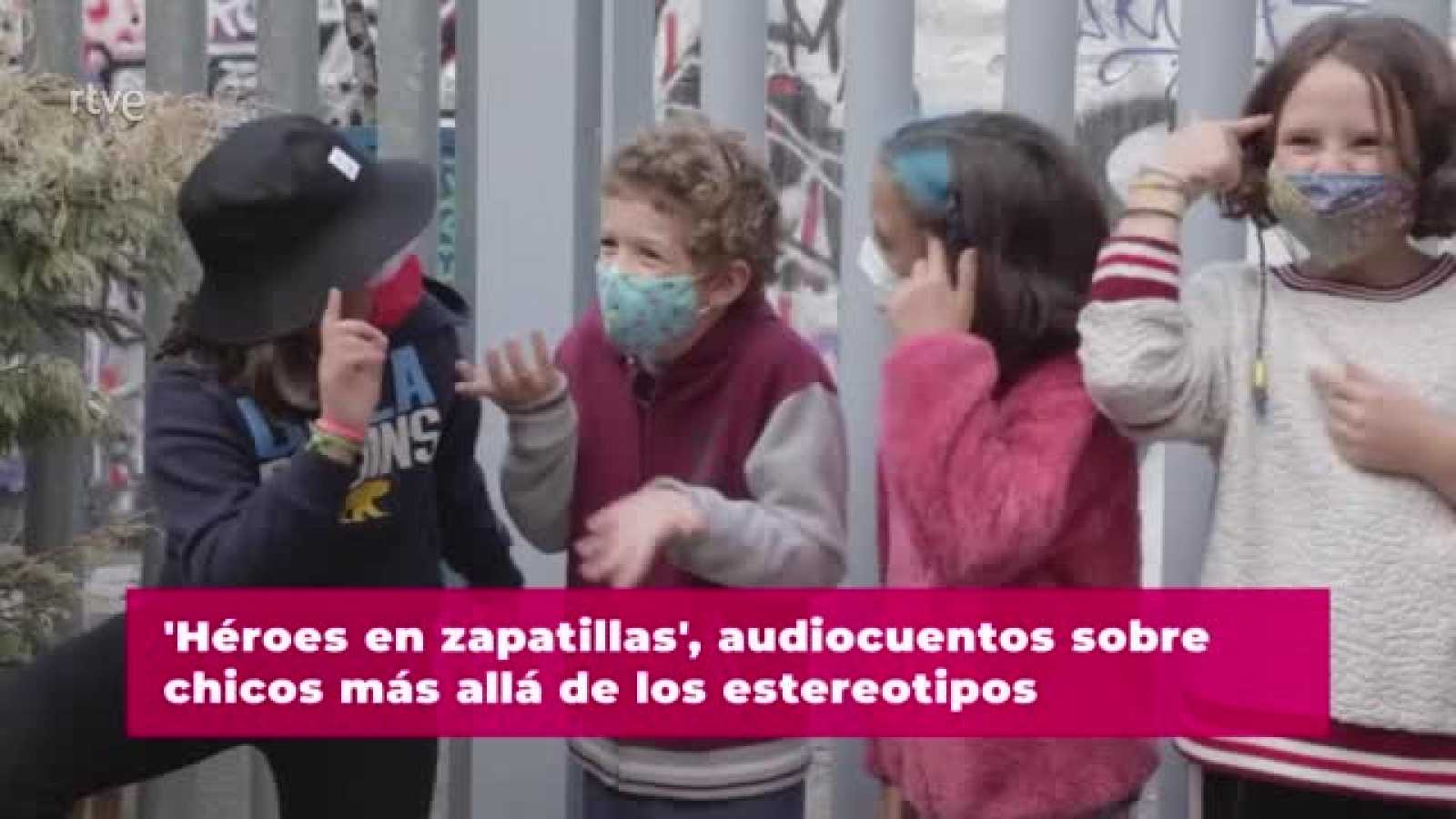 """""""Héroes en Zapatillas"""": audiocuentos de chicos más allá de los estereotipos"""