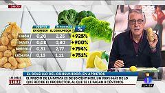 Los precios de algunos alimentos se disparan durante el mes de febrero