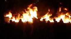 Los Mossos investigan si los anarquistas detenidos por los disturbios en Barcelona participaron en otros altercados