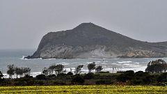 Precipitaciones localmente fuertes en el extremo occidental de Andalucía y área del Estrecho
