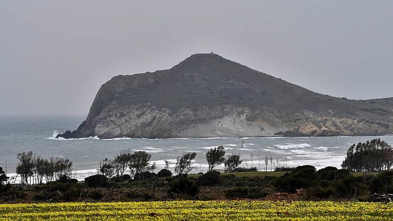 Precipitaciones localmente fuertes en el extremo occidental de Andalucía y área del Estrecho - Ver ahora