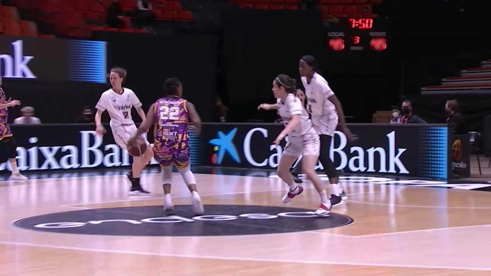 Baloncesto - Copa de la Reina 2021. 1/4 Final: Lointek Gernika - Ciudad de La Laguna - ver ahora