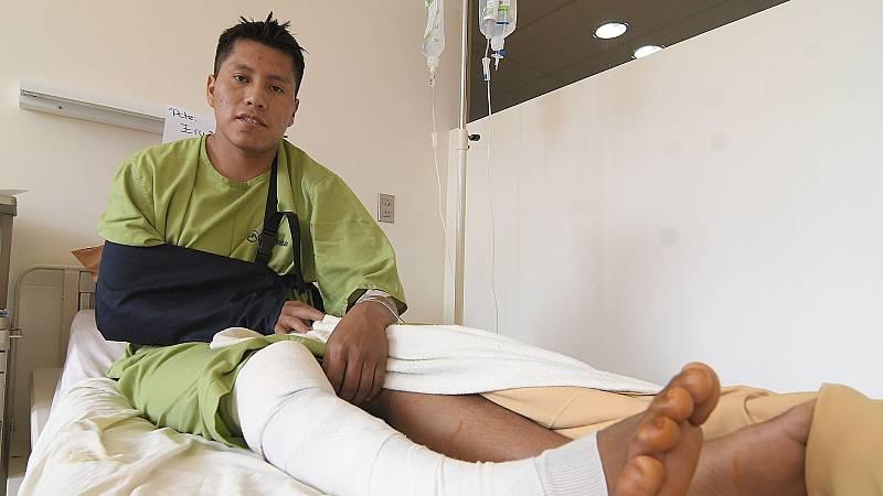 Un superviviente de 'la tragedia del Chapecoense' sobrevive a un accidente de autobús en Bolivia