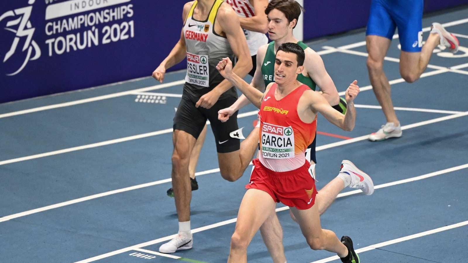 Mariano García gana su semifinal de 800m en Torun