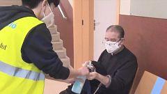 Condenados a trabajos comunitarios realizan tareas de prevención contra la COVID