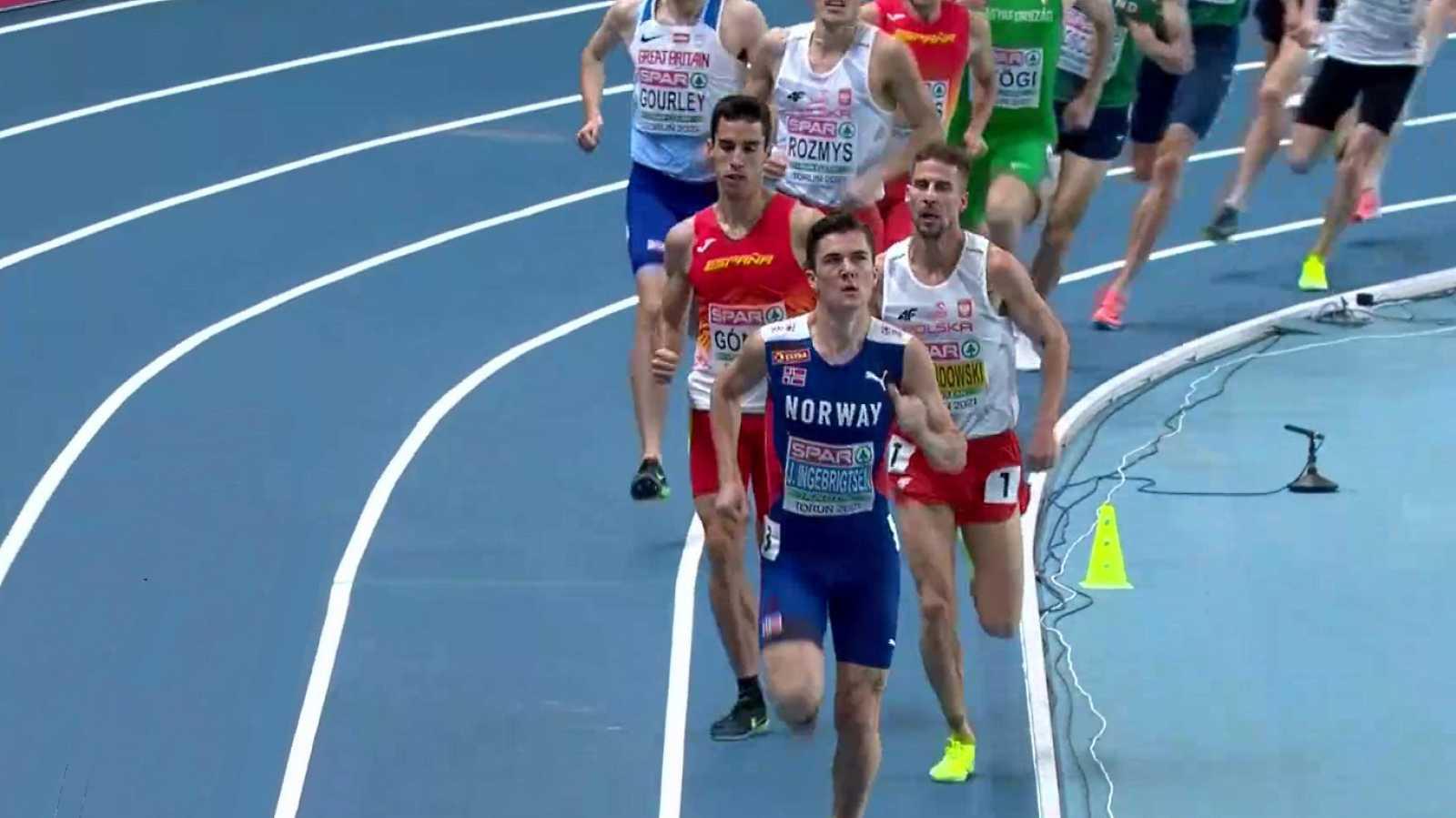 Atletismo - Campeonato de Europa Pista Cubierta. Sesión Vespertina - 05/03/21 - ver ahora
