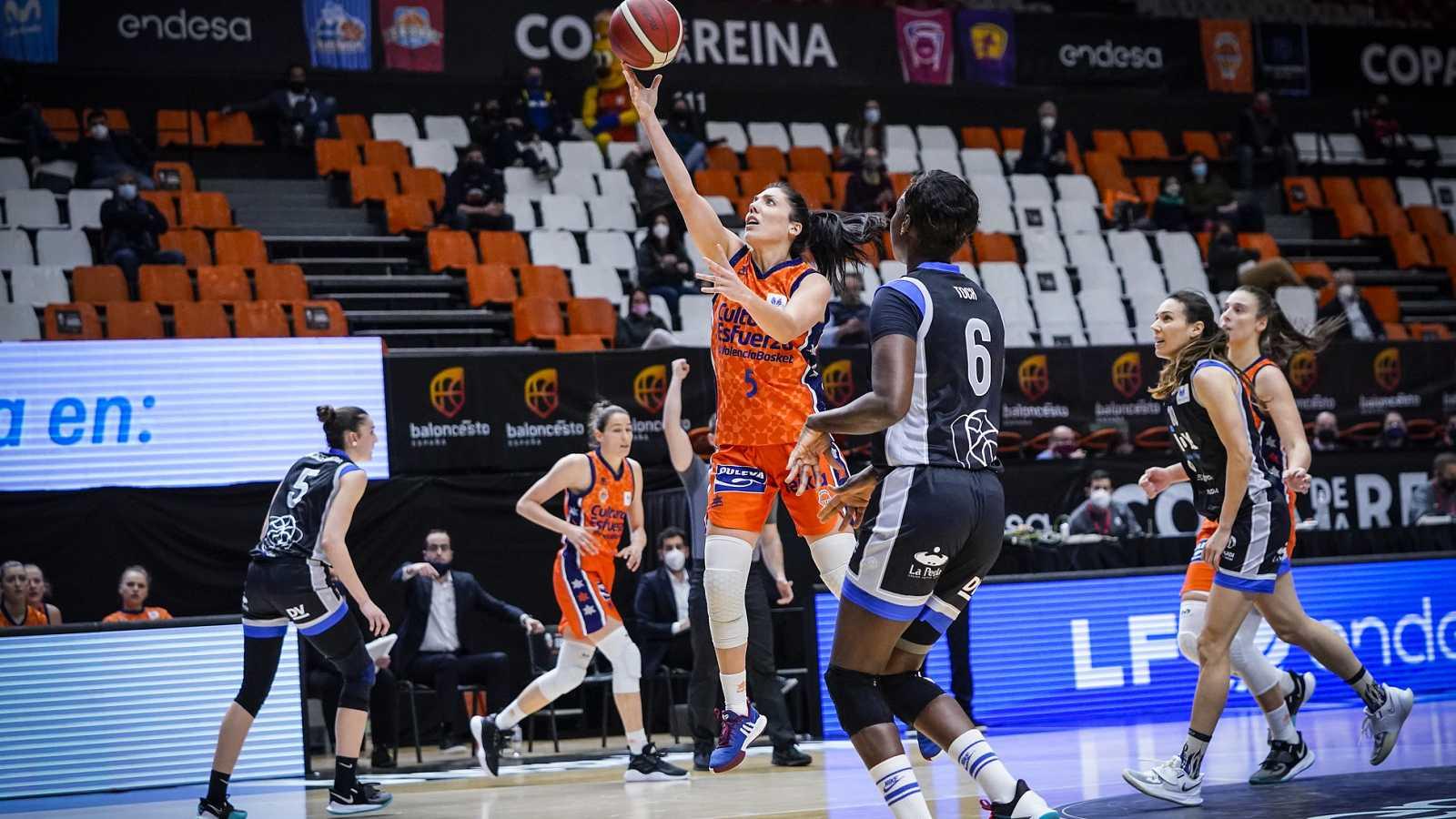 Resumen del Valencia Basket 74-58 IDK Euskotren