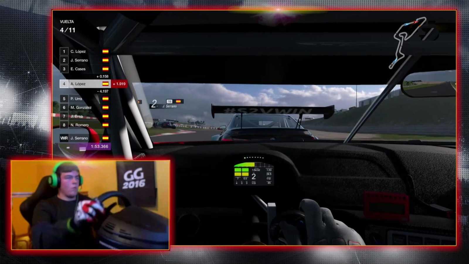 Automovilismo virtual - Campeonato de España Gran Turismo: Gran Premio 4 - ver ahora