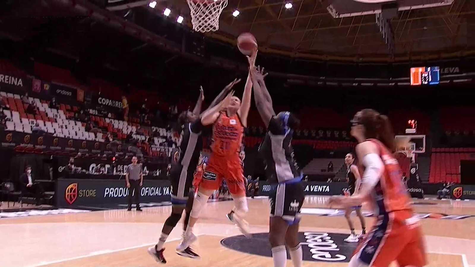 Baloncesto - Copa de la Reina 2021. 1/4 Final: Valencia Basket - IDK Euskotren - ver ahora
