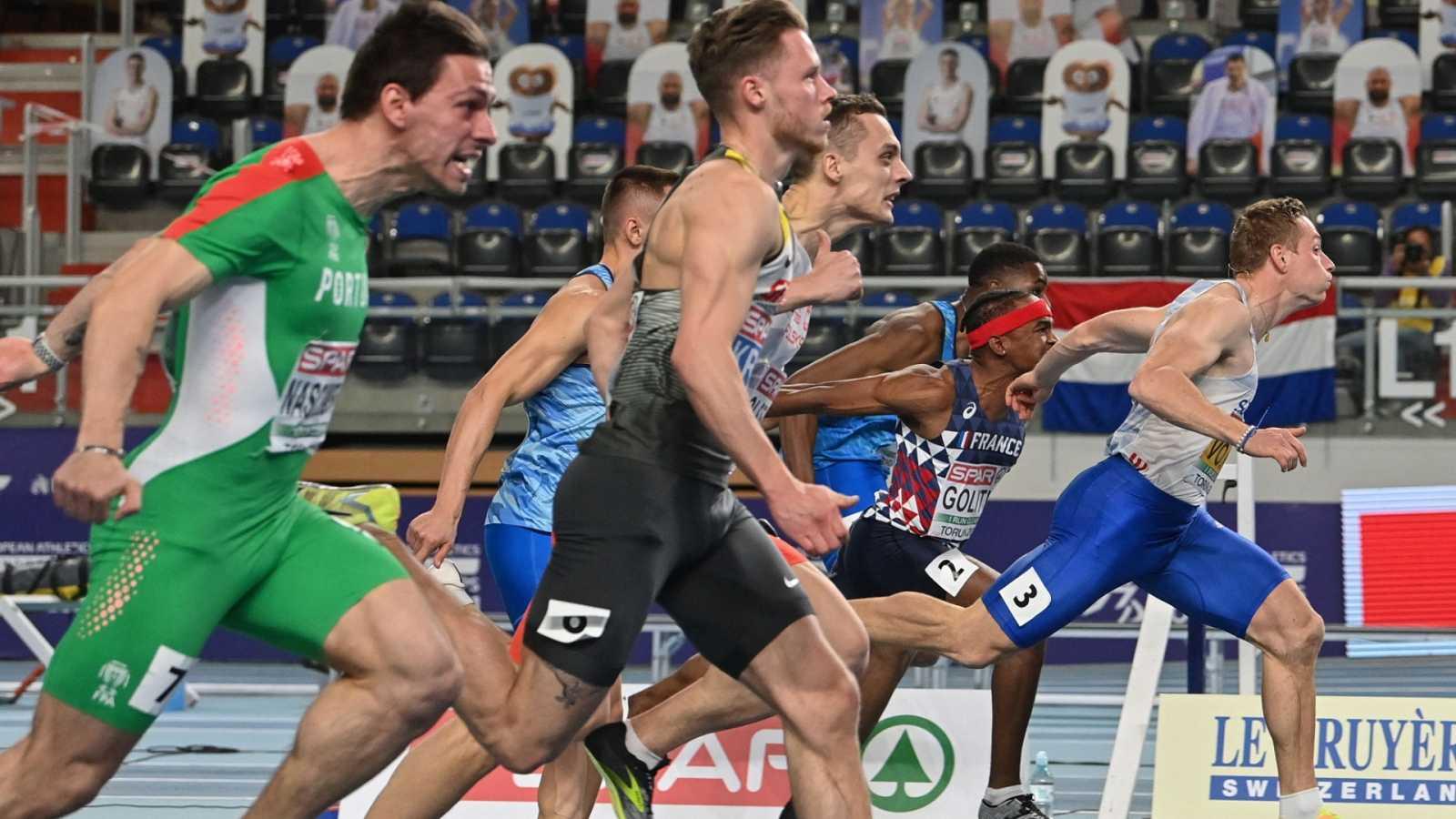 Atletismo - Campeonato de Europa Pista Cubierta. Semifinales 60m Masculino - ver ahora