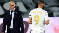 """Zidane sobre el regreso de Benzema: """"Karim es una alegría para el fútbol"""""""