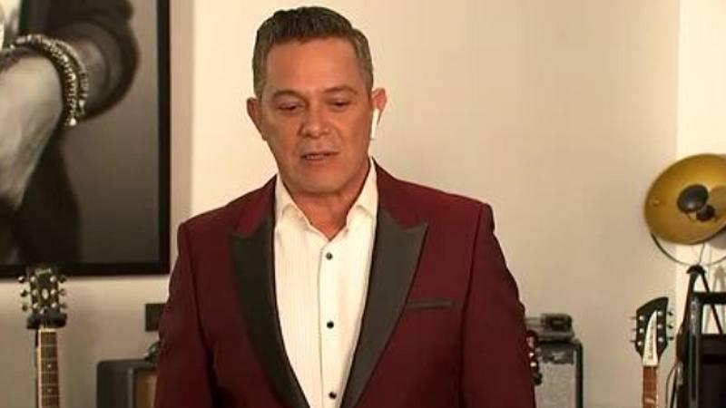 """Alejandro Sanz: """"Hoy es una noche para apoyar la cultura y nuestro cine"""""""