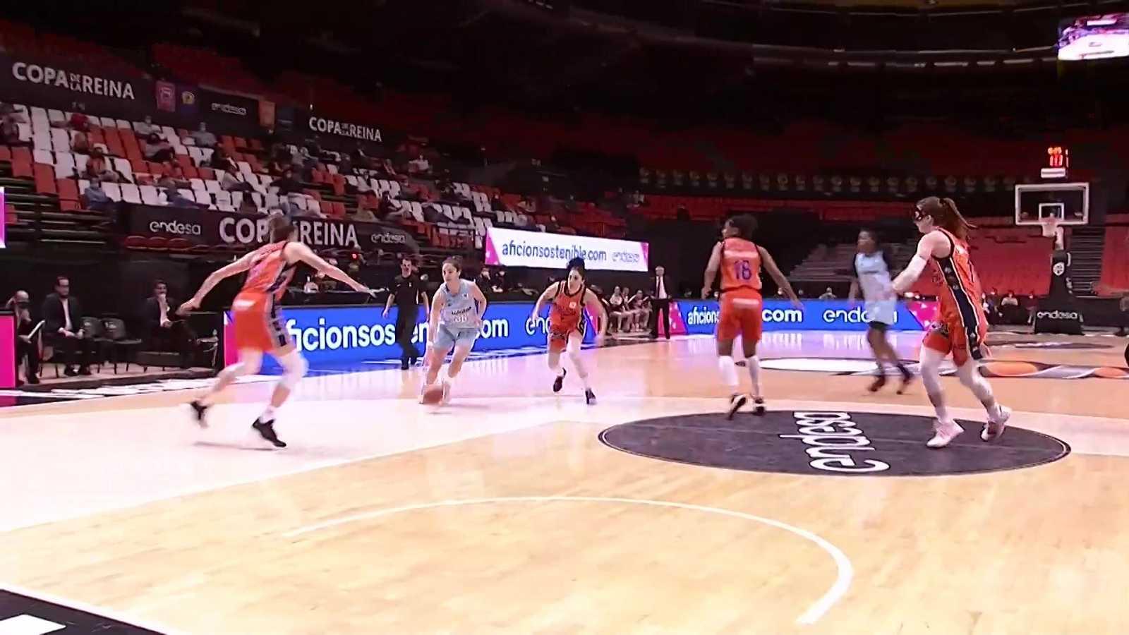 Baloncesto - Copa de la Reina 2021. 2ª semifinal: Valencia Basket - Lointek Gernika - ver ahora