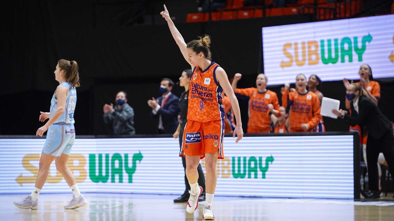 Resumen del Valencia Basket 57-46 Lointek Gernika