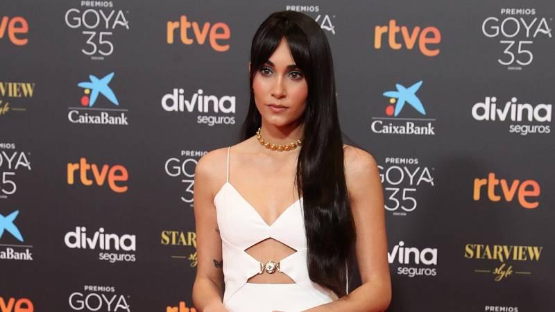 Aitana sorprende en los Goya 2021 con su nuevo look