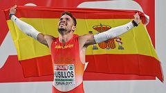 Óscar Husillos, campeón de Europa de 400 metros