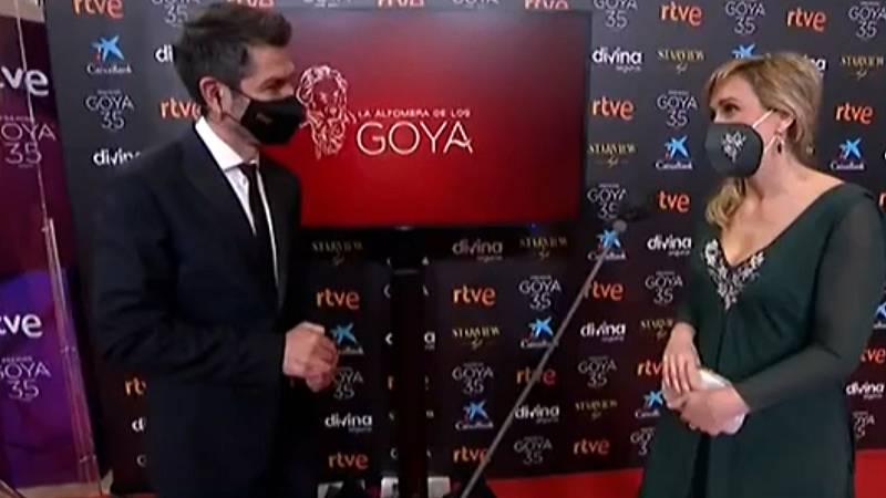 """Ana María Ruiz, la enfermera que entrega el Goya a mejor película: """"La cultura es sanadora"""""""