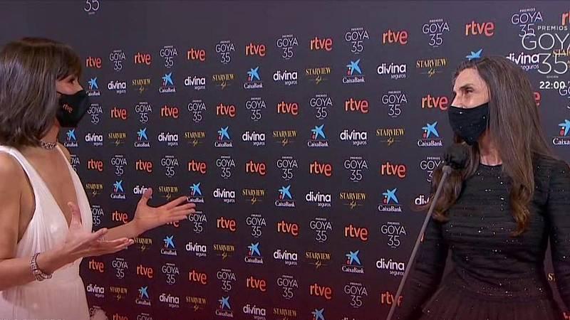 """Ángela Molina: """"Significa una emoción incontrolable"""""""