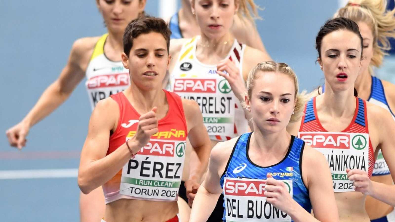 Marta Pérez cuarta y Esther Guerrero quinta en 1.500