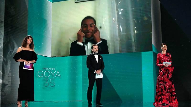 Adam Norou gana el Goya 2021 al mejor actor revelación