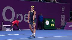 Tenis - WTA Torneo Doha. Final: G. Muguruza - P. Kvitova