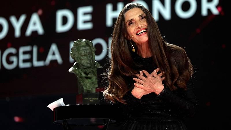 """Ángela Molina, Goya de Honor: """"Cuanto más mayor, más agradecida te sientes"""""""