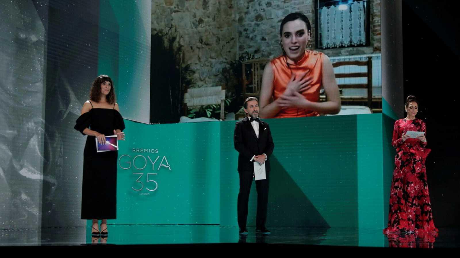 Premios Goya 2021 - Gala de los Premios Goya 2021 - Lengua de signos