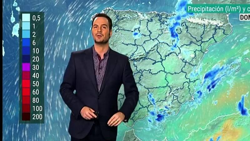 Lluvias fuertes en zonas de Valencia, Almería, Murcia e Ibiza