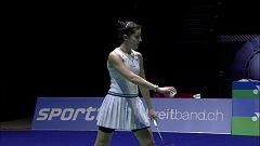 Bádminton - Yonex Swiss Open. Semifinal femenina: C. Marín - P. Chochuwong