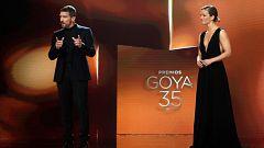 Resumen gala de los premios Goya 2021