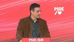 """Sánchez critica a los """"enemigos del feminismo"""" y Montero destaca en papel de la mujer en la pandemia"""