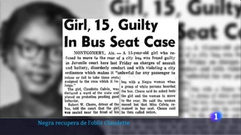 Claudette Colvin va fer el gest de valentia 9 mesos abans de Rosa Parks