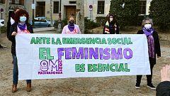 El movimiento feminista critica la prohibición de las manifestaciones del 8M en Madrid