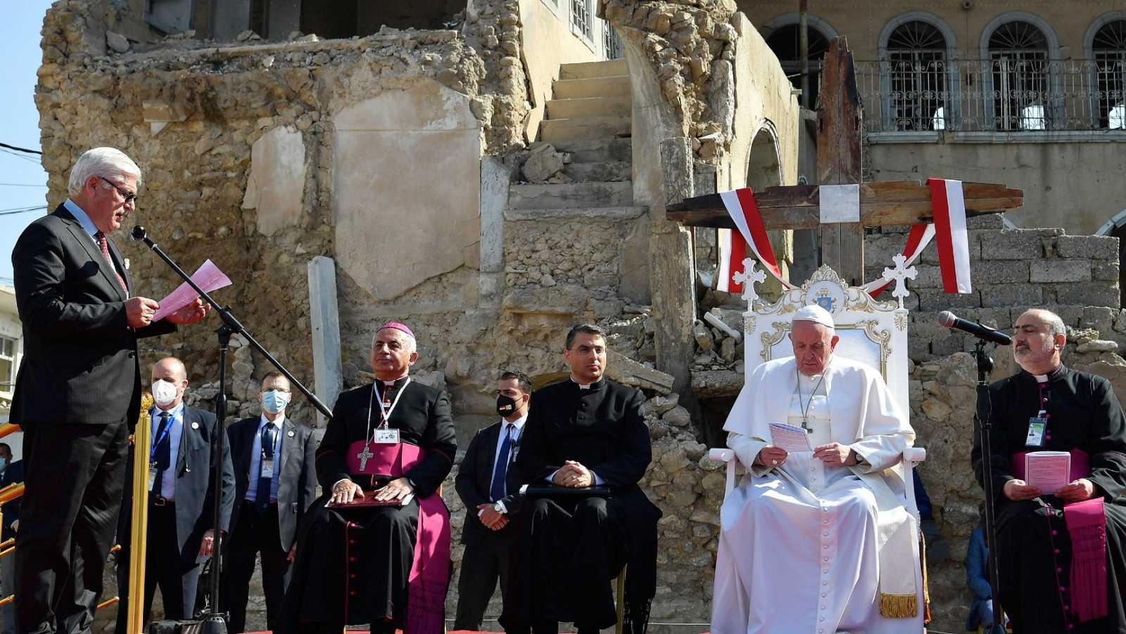 Papa, en MOsul