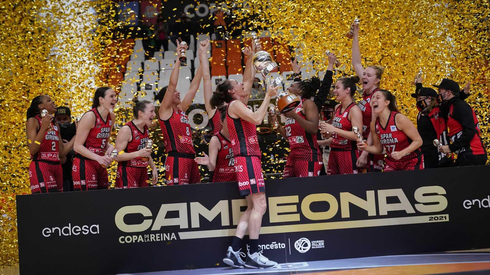 Resumen de la final de la Copa de la Reina: Spar Girona 72-62 Valencia Basket