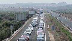 """Caravanas en Jaén para protestar contra el """"abandono político de la provincia"""""""