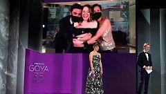 La alegría de los premiados desde sus casas: del triunfo de 'Las niñas' al subidón de Mario Casas